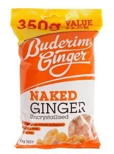 Buderim Ginger Naked Ginger 350g