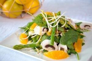 Buderim Ginger Asian Style Mushroom Salad