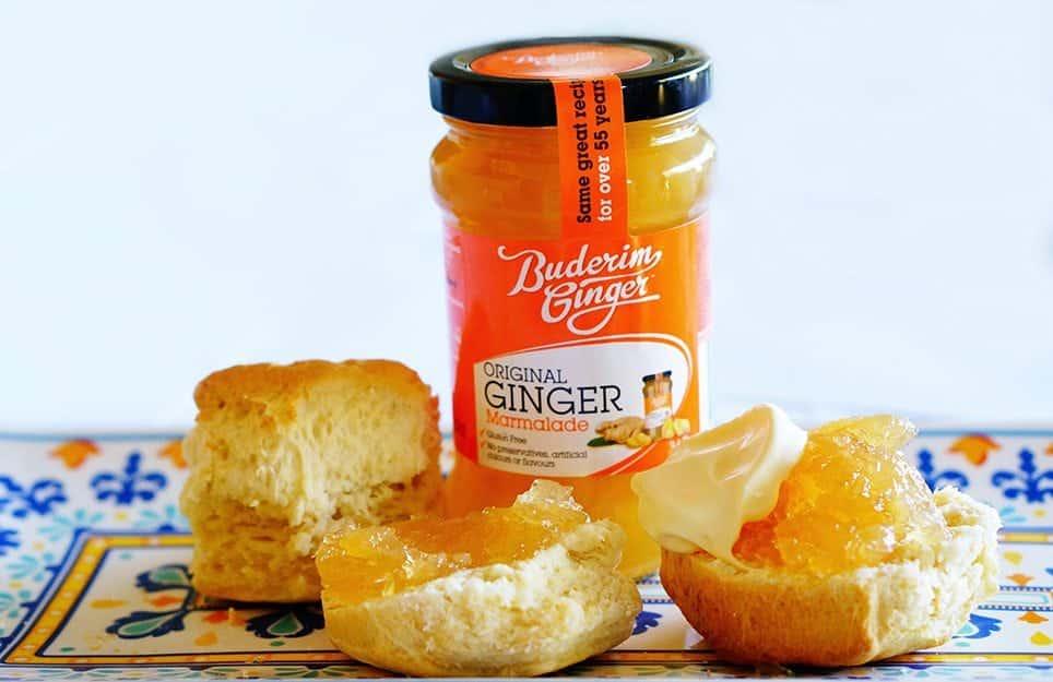 Buderim Ginger Original Marmalade Web