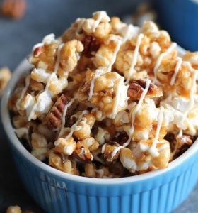 Pumpkin Popcorn With White Choc 1