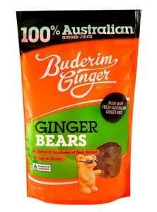 Buderim Ginger Bears 175g