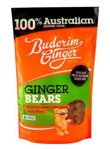 Buderim Ginger Bears 175g