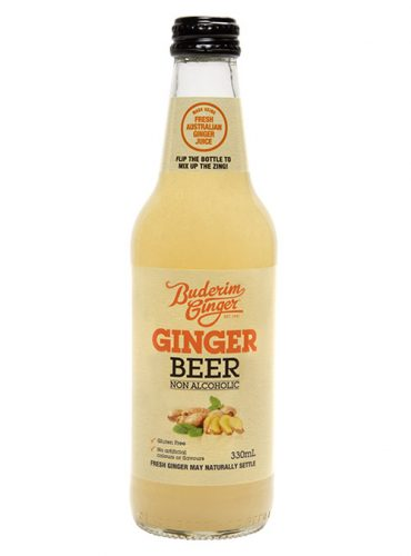 Buderim Ginger Beer Nonalcoholic Bottle 330ml