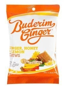 Buderim Ginger Honey Ginger Lemon Chews