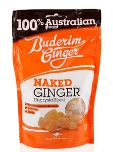 Buderim Ginger Naked Ginger 250g