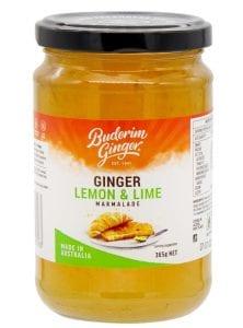 Ginger, Lemon and Lime Marmalade