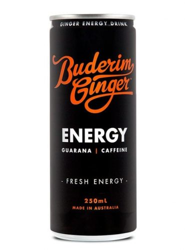 Buderim Ginger Ginger Energy Drink Can 250ml Web