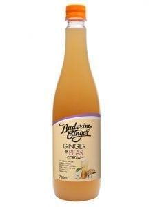 Buderim Ginger Ginger Pear Cordial