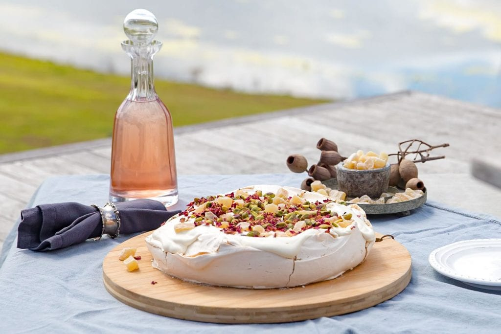 Recipe Ginger And Cardamom Pavlova03