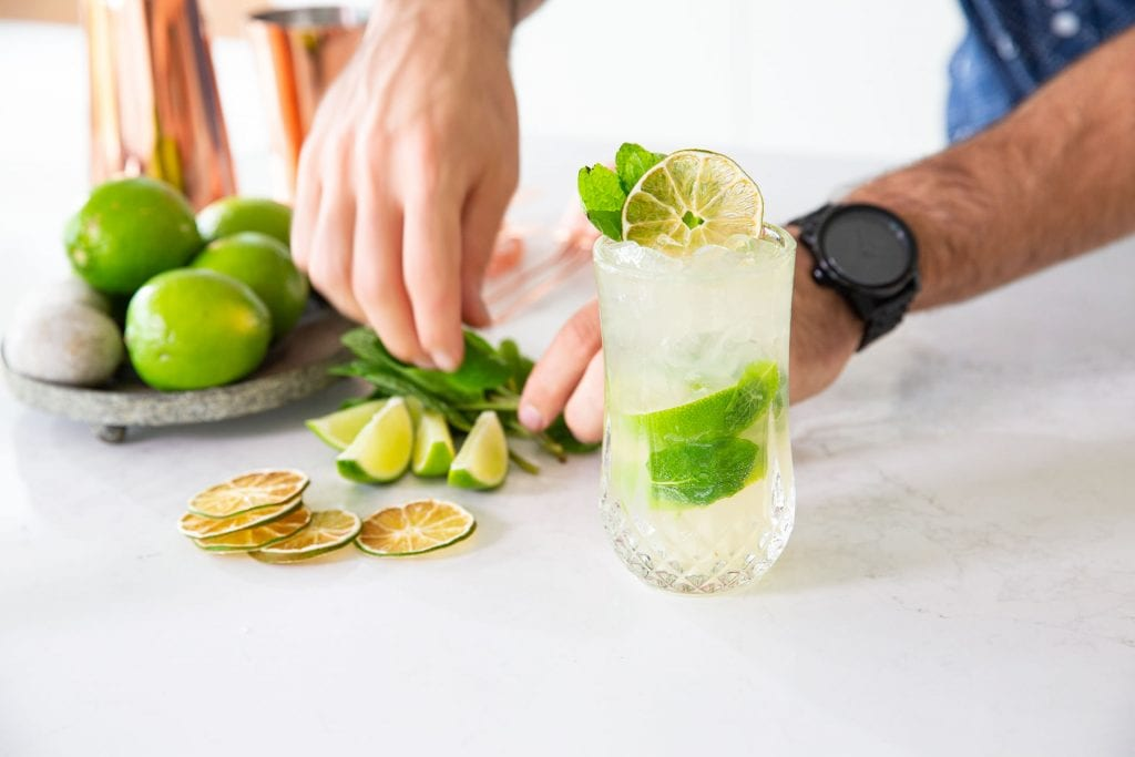 Recipe Ginger Mojito With Buderim Ginger Beer01