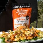 Recipe Grilled Prawns With Ginger Wasabi Butter01