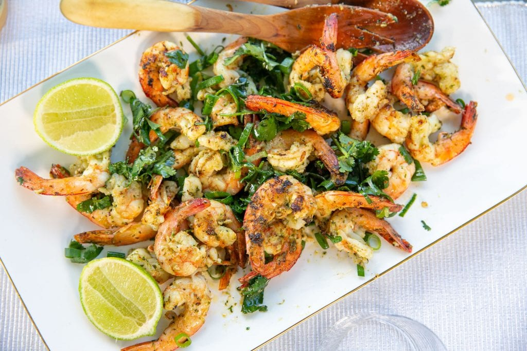 Recipe Grilled Prawns With Ginger Wasabi Butter02