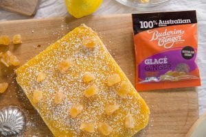 Recipe Lemon And Ginger Curd Slice