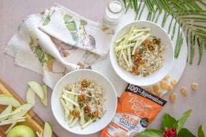 Recipe Apple Ginger Walnut Bircher Muesli