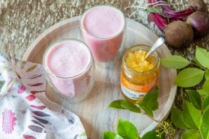 Recipe Ginger Beetroot Latte