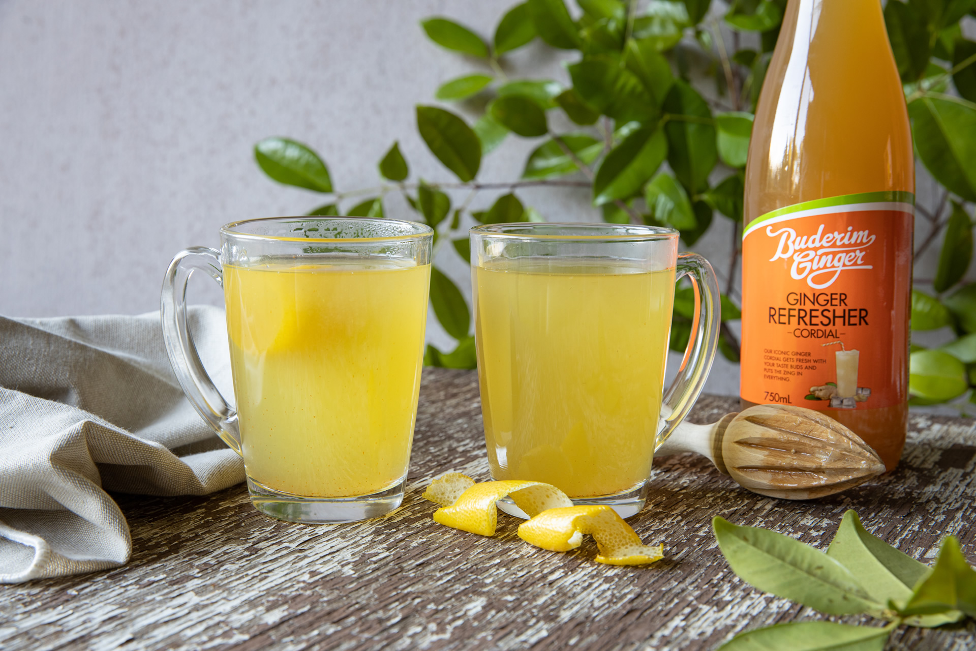 Recipe Ginger Turmeric Lemon Tonic