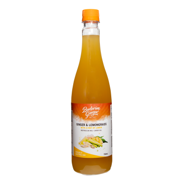 Ginger & Lemongrass Refreshing Cordial
