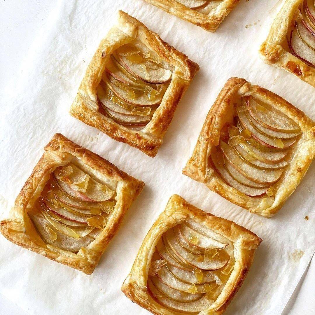 Recipe Apple Pear And Ginger Mini Tarts