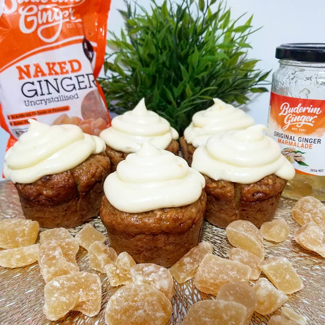 Recipe Ginger Carrot Cake Muffins