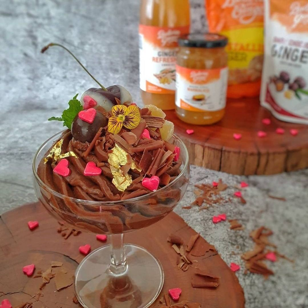 Recipe Ginger Chocolate Mousse