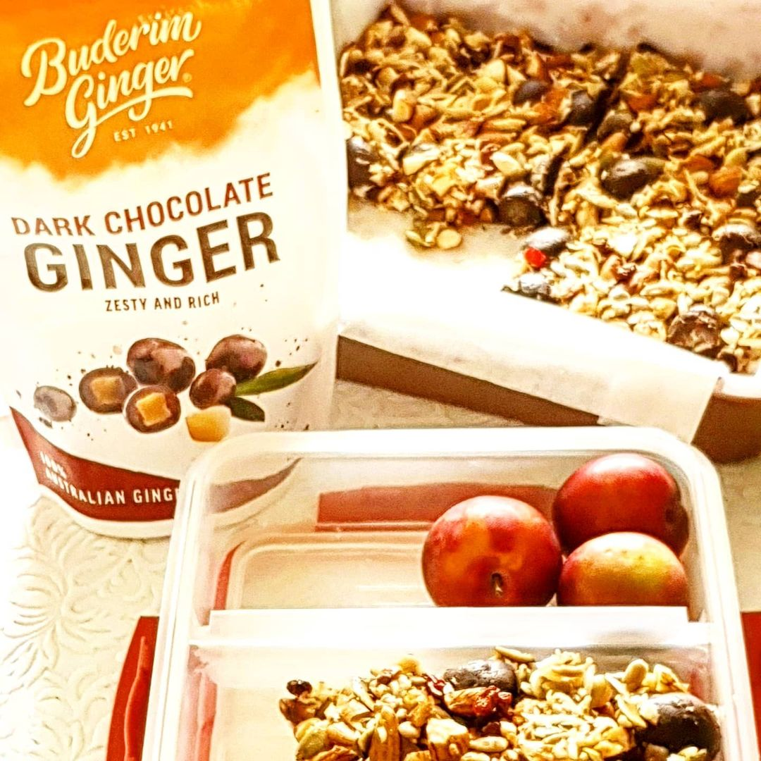 Recipe Ginger Muesli Bar Crumble