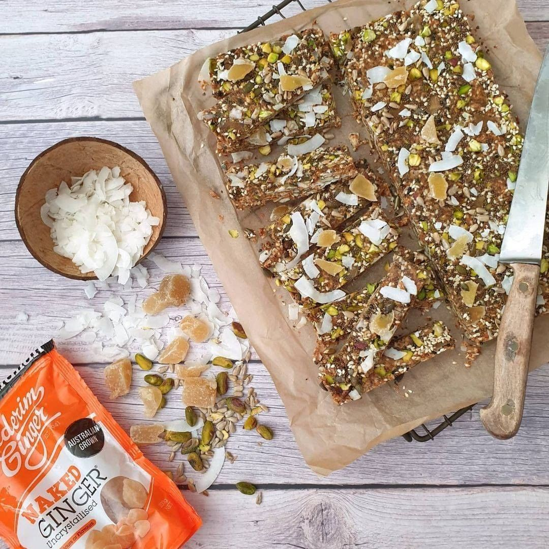 Recipe Naked Ginger Nut And Seed Bar