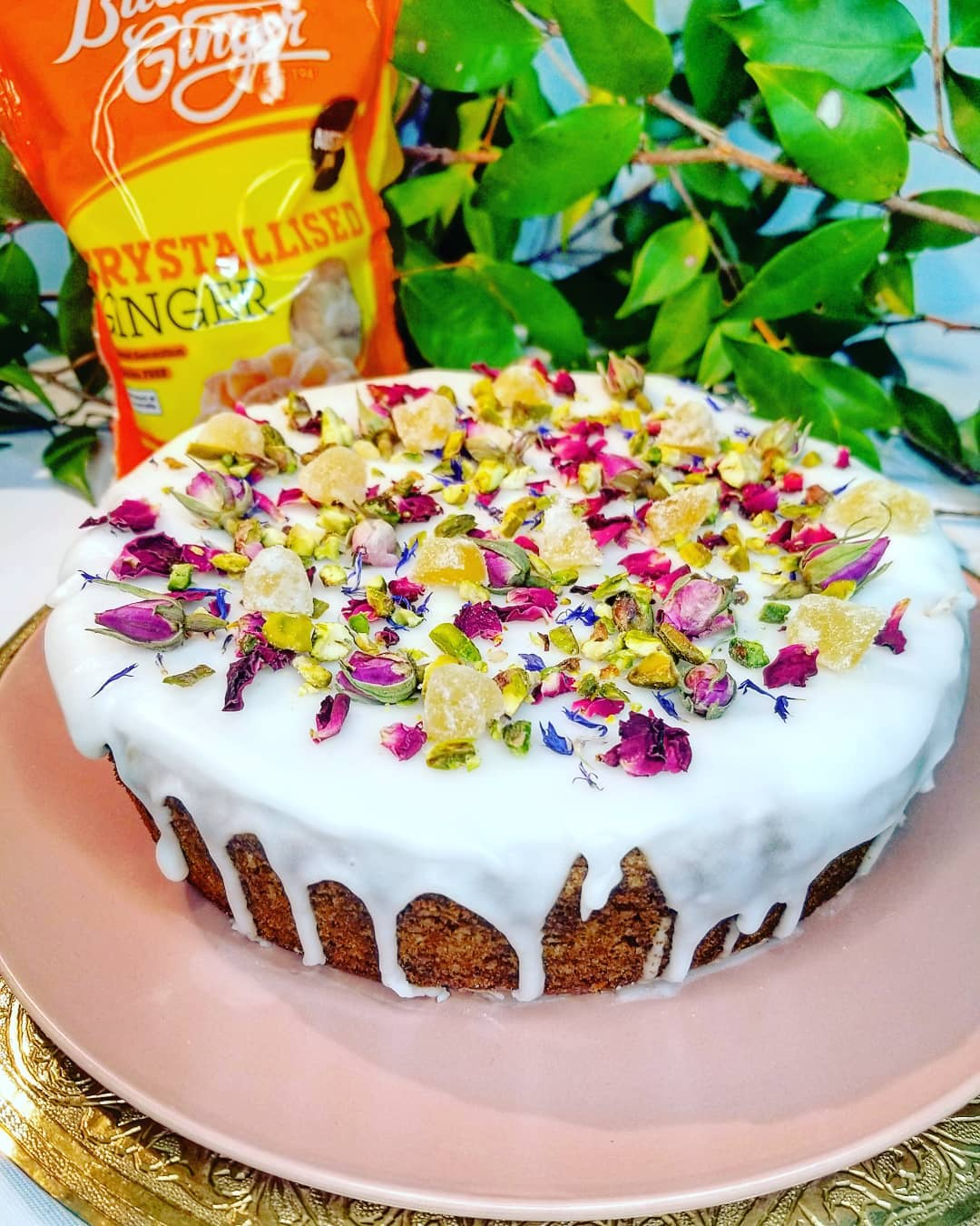 Recipe Persian Love Cake With Buderim Ginger
