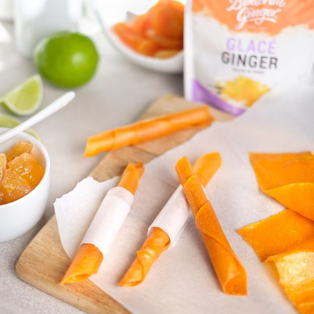 Recipe Ginger Apricot Fruit Leather
