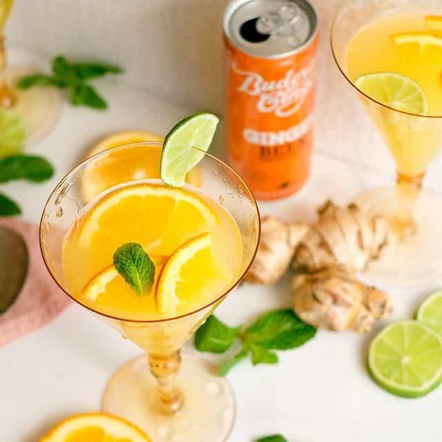 Recipe Ginger Beer Tropical Crush