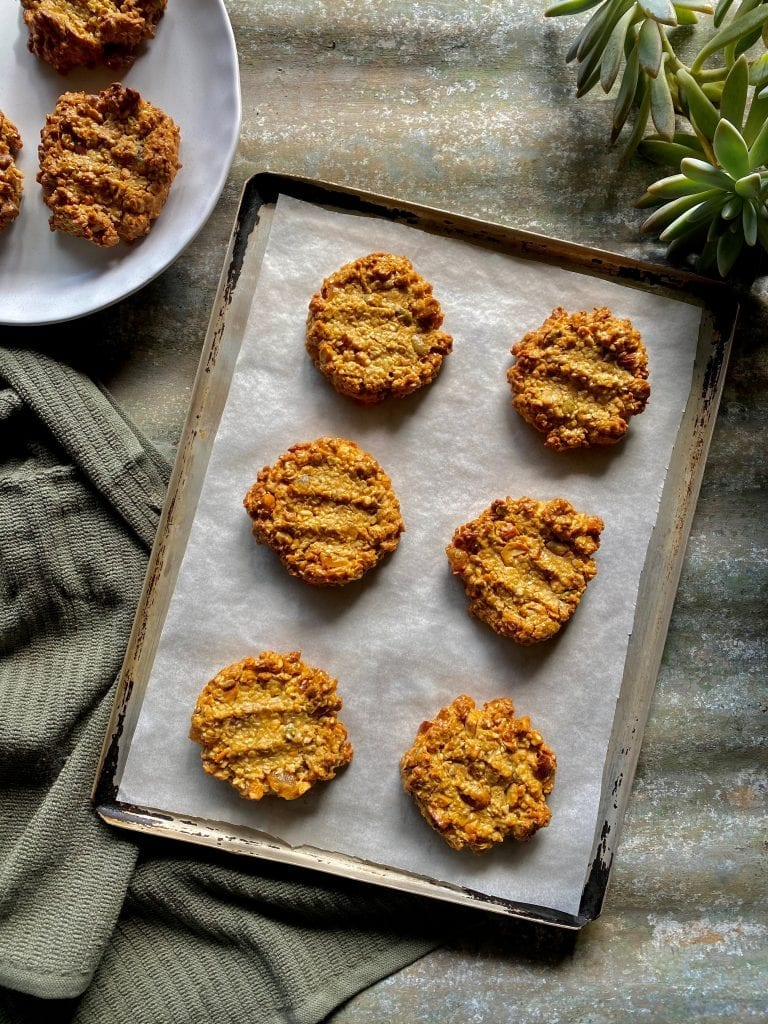 Recipe Ginger Nut Seed Biscuits
