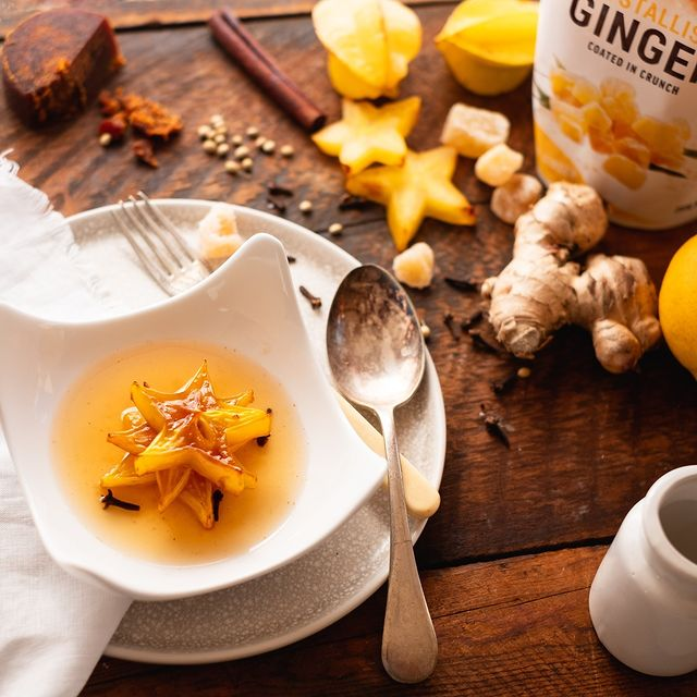 Recipe Grilled Star Fruit In Syrup
