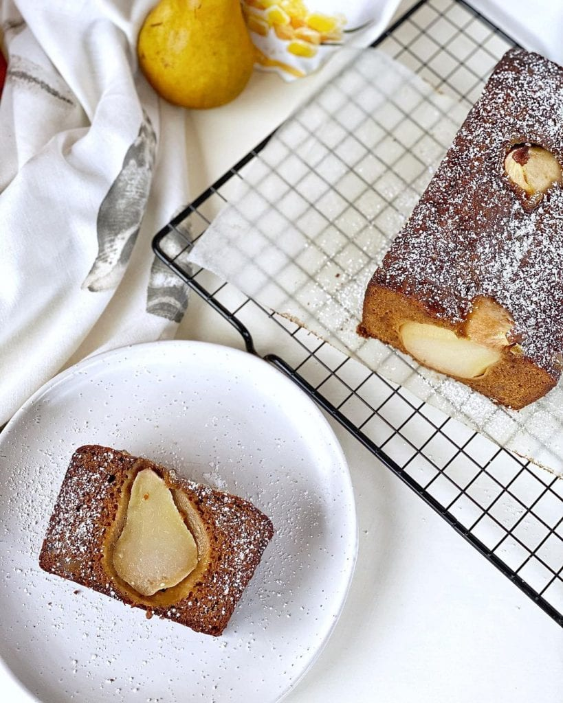 Recipe Pear And Gingerbread Loaf