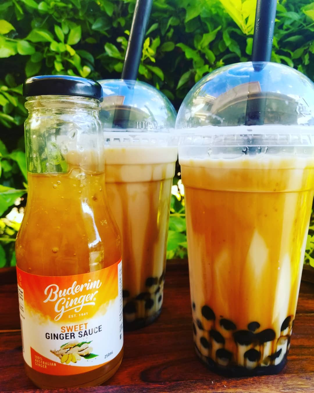 Recipe Buderim Ginger Boba Tea