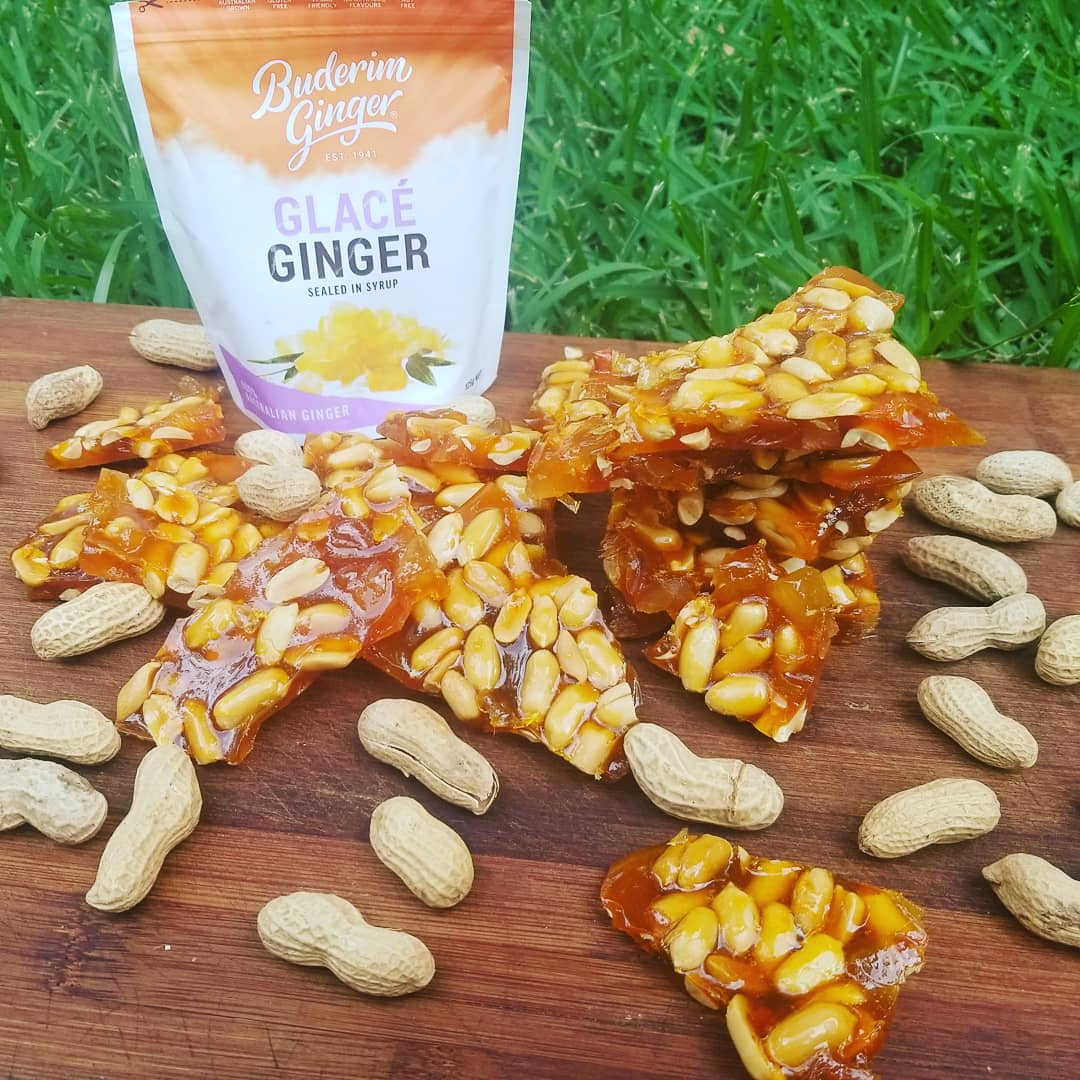 Recipe Buderim Ginger Peanut Brittle
