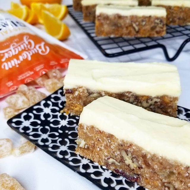 Recipe Orange And Buderim Ginger No Bake Slice