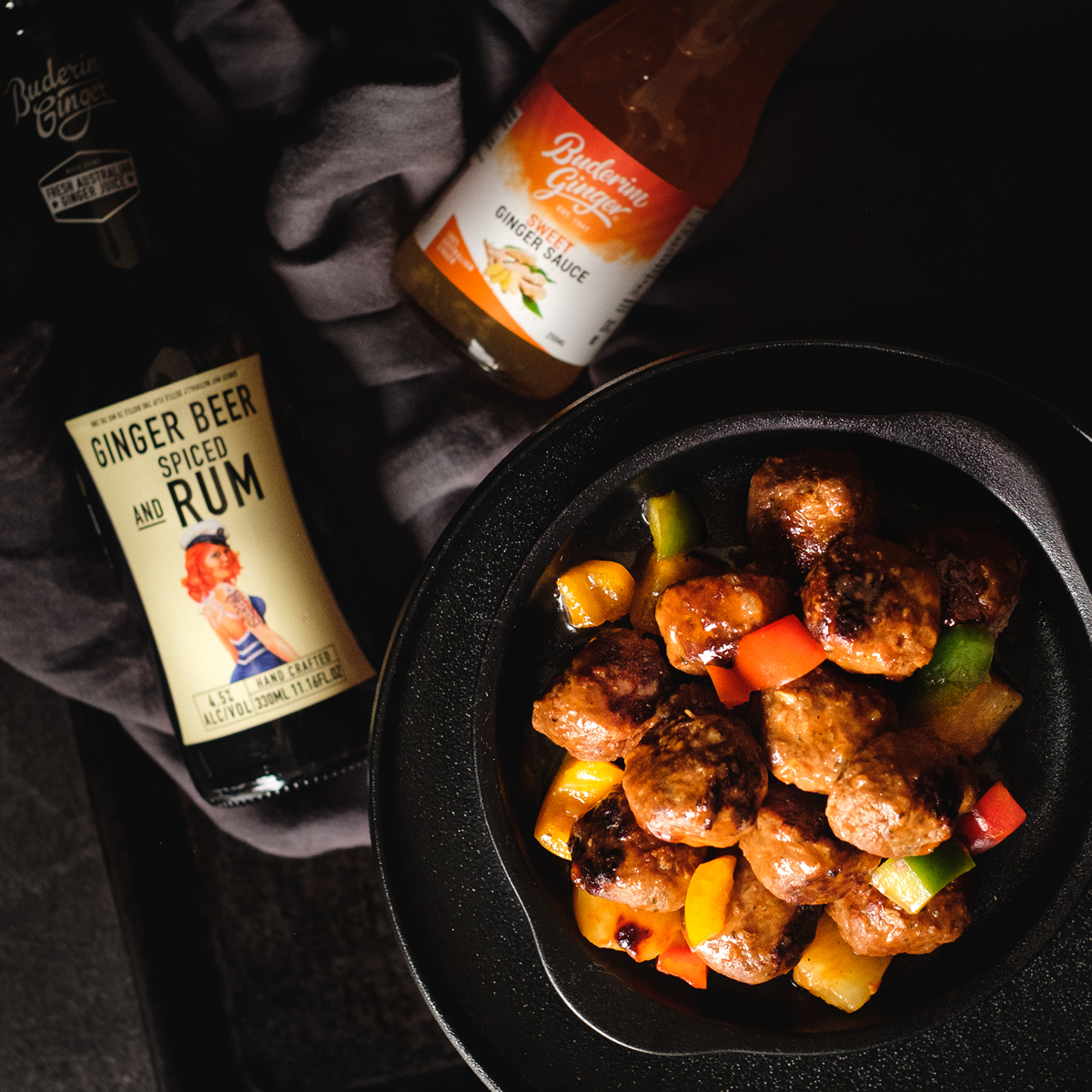 Recipe Pirate Style Sweet And Sour Meatballs