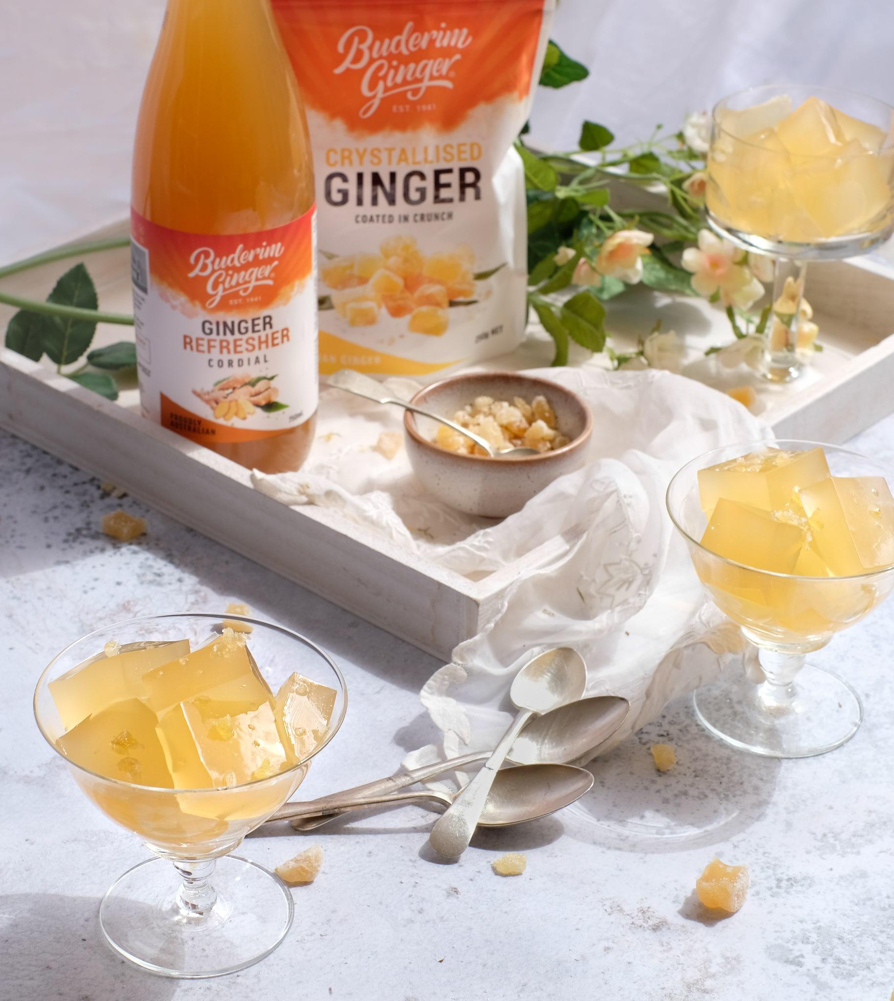 Recipe Refreshing Ginger Jelly